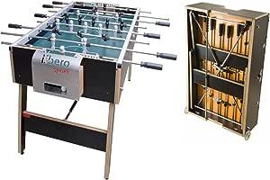 flix Libero Sport: High-End futbolín/fútbol de Mesa Plegable & móvil: Amazon.es: Deportes y aire libre