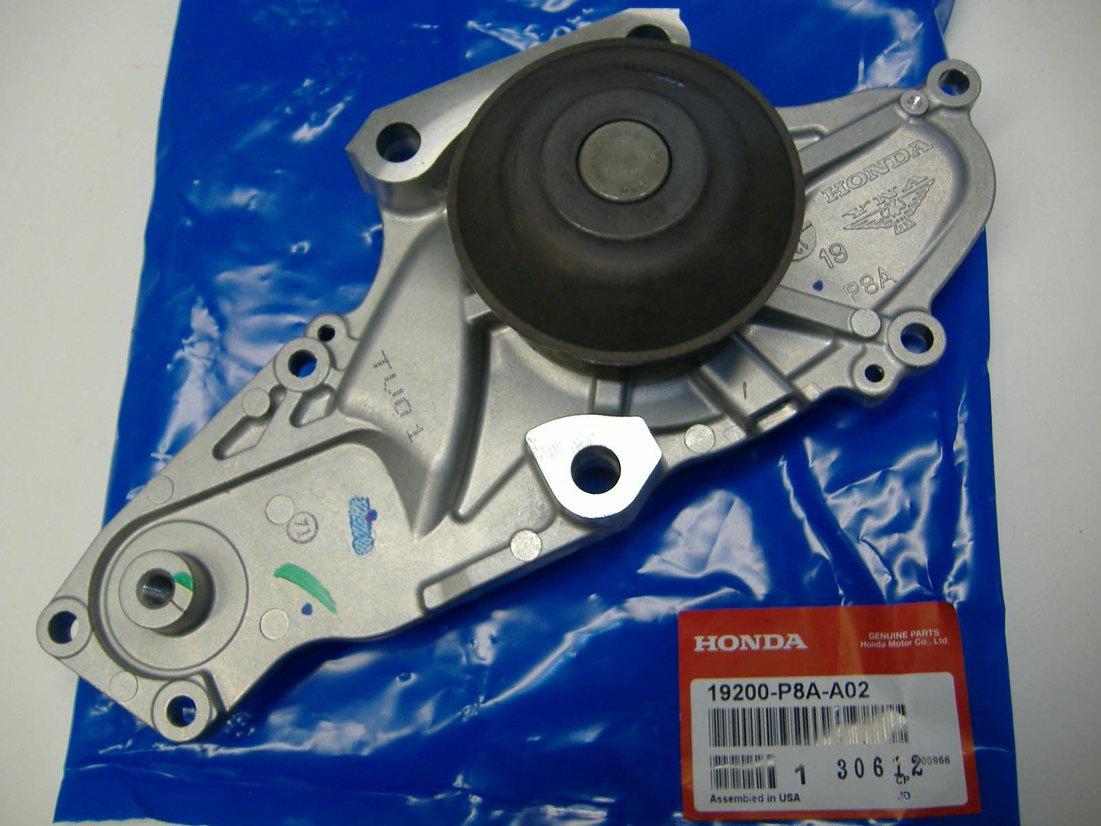 Genuine Honda (19200-P8A-A02) Water Pump