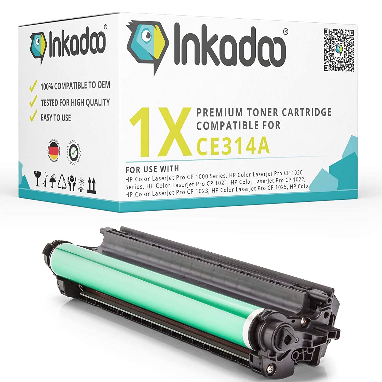 Inka Doo® tambor compatible con HP TopShot LaserJet Pro M 275 A ...