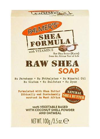 Palmer's Shea Formula Moisturizing Raw Shea Butter Soap, 3.5 oz. (Pack of 12)