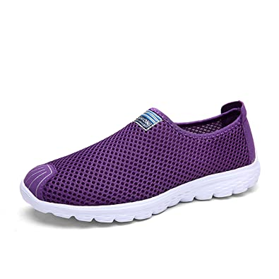 Robert Westbrook Women Shoes Summer Lady Casual Shoes Women Air Mesh Tenis Feminino Purple 5
