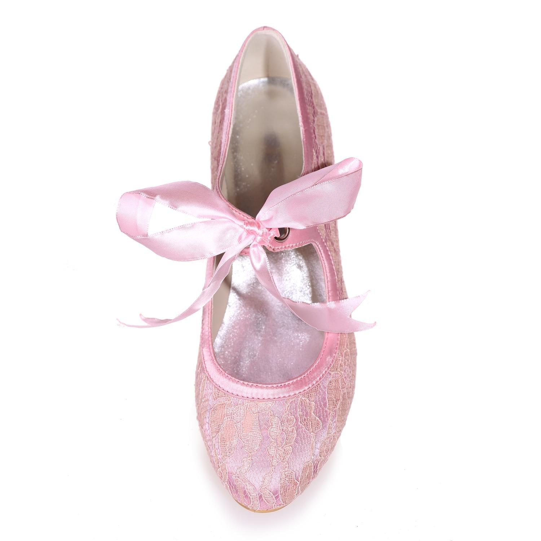 L@YC Damen Hochzeit Schuhe Seide Spitze Party Night Night Night 9001-05 Court Schuhe mehr Farben erhältlich 70cd72