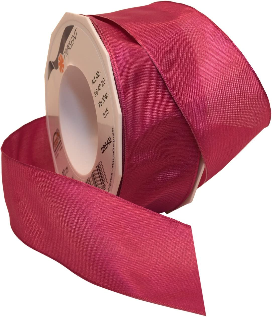 Morex Ribbon Dream Wired Taffeta Ribbon Spool Misty Pink 1-1//2-Inch by 22-Yard