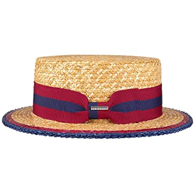 905560afcdb223 Stetson Classic Boater Straw Hat Sun Beach (L (58-59 cm) - Nature):  Amazon.co.uk: Clothing