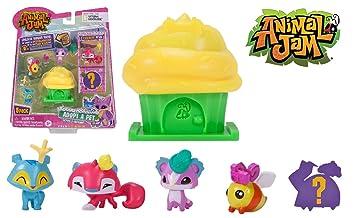 Amazon Com Animal Jam Adopt A Pet Series 3 Cupcake 5 Pack 2
