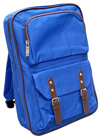 c041cf4a6f5a AM Landen Japanese Backpack Kid Backpack Travel Bag Daypack Handbag(Diamond  Blue)