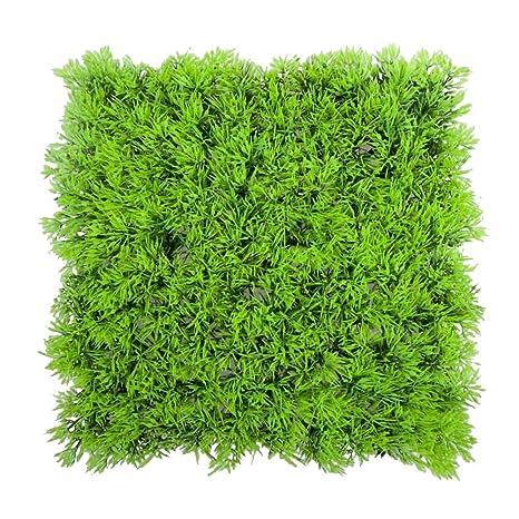 Planta artificial - SODIAL(R)Planta de hierba verde acuatica agua falsa artificial Cesped