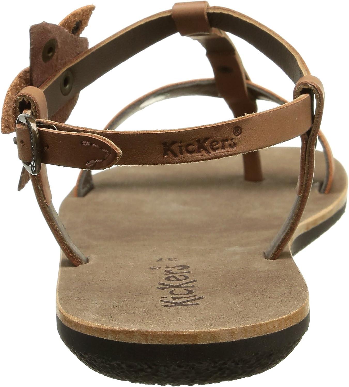 Kickers Spartflower, Sandales femme, Marron (Marron Clair