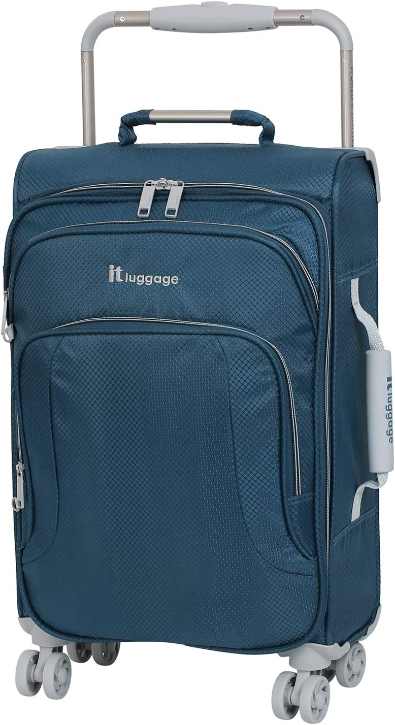 Ultra Durable Caiman 29 Hard Shell Spinner Carry On Luggage Perfect Size and TSA Airport Approved.