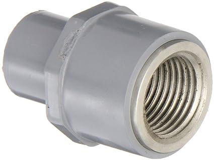 Amazon.com: GF sistemas de tuberías CPVC a acero inoxidable ...