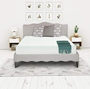 Irvine Home Collection Luxury Cloud Bed Mattress Conventional, California King, white