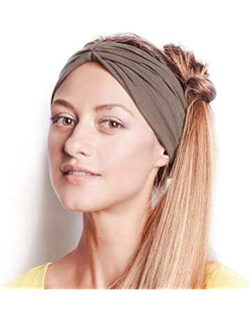 ... Elastic Head Wrap Twisted Cute Hair Accessories · BLOM Original Multi  Style Headband. for Women Yoga Fashion Workout Running Athletic Travel. Wear faa70bd5d79b