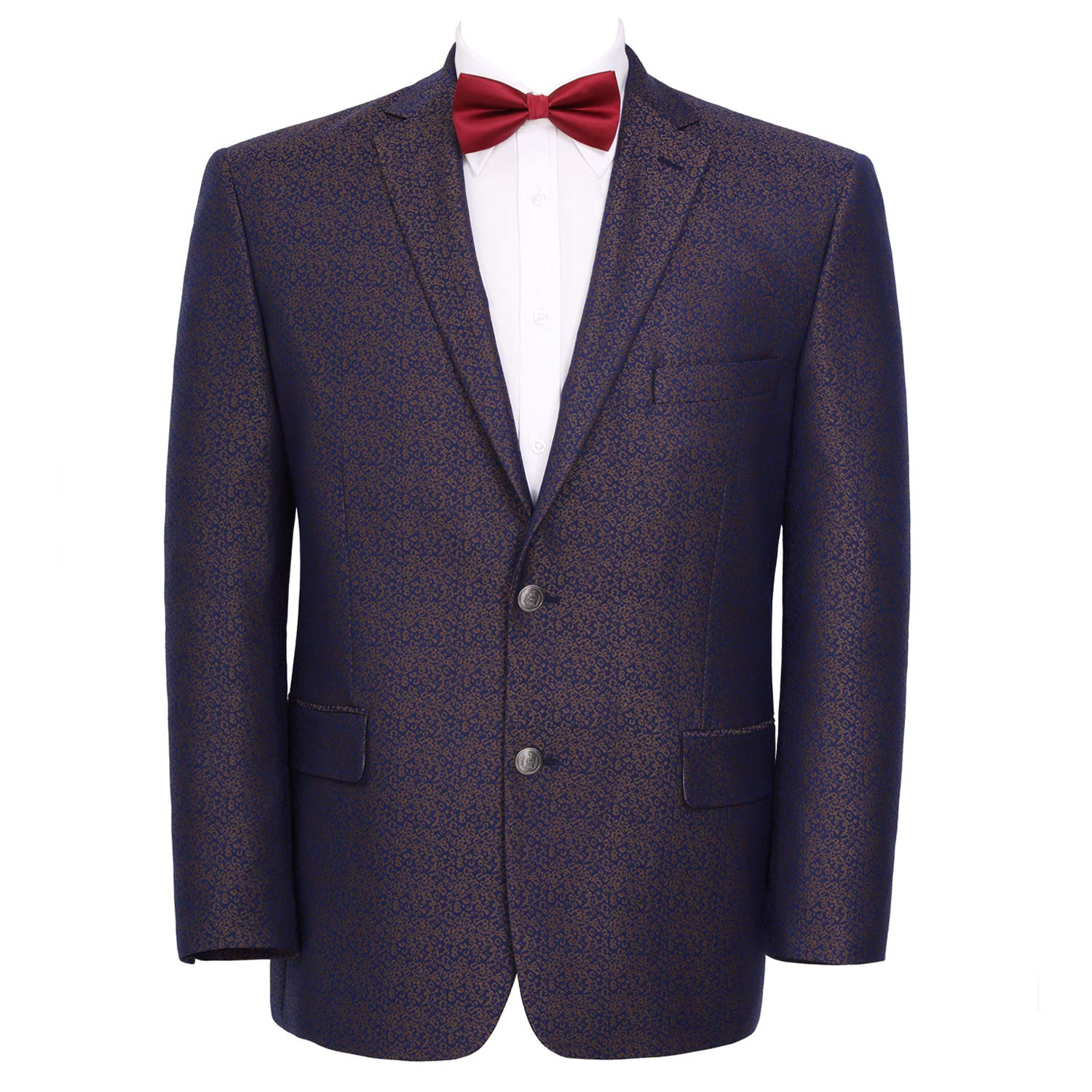 Pio Lorenzo Mens Classic Fit 2 Button Blazer Suit Separate Jacket