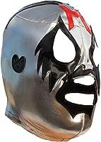 Deportes Martinez Mil Máscaras Lycra Lucha Libre Luchador Wrestling Masks Adult Size Silver