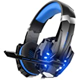 Mahmayi Mahmayi G9000 - Headband Headphones for One S / One / PS4 / tablet / laptop / mobile phone (0.138 in stereo jack…