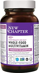 New Chapter Women's Multivitamin + Immune Support - Every Woman's One