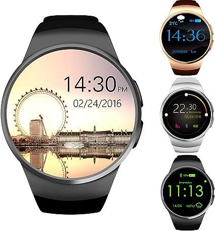 GPCT Bluetooth [Android / iOS] écran tactile [résistant à leau] moniteur dactivité physique / sommeil / fréquence cardiaque [montre connectée] ...
