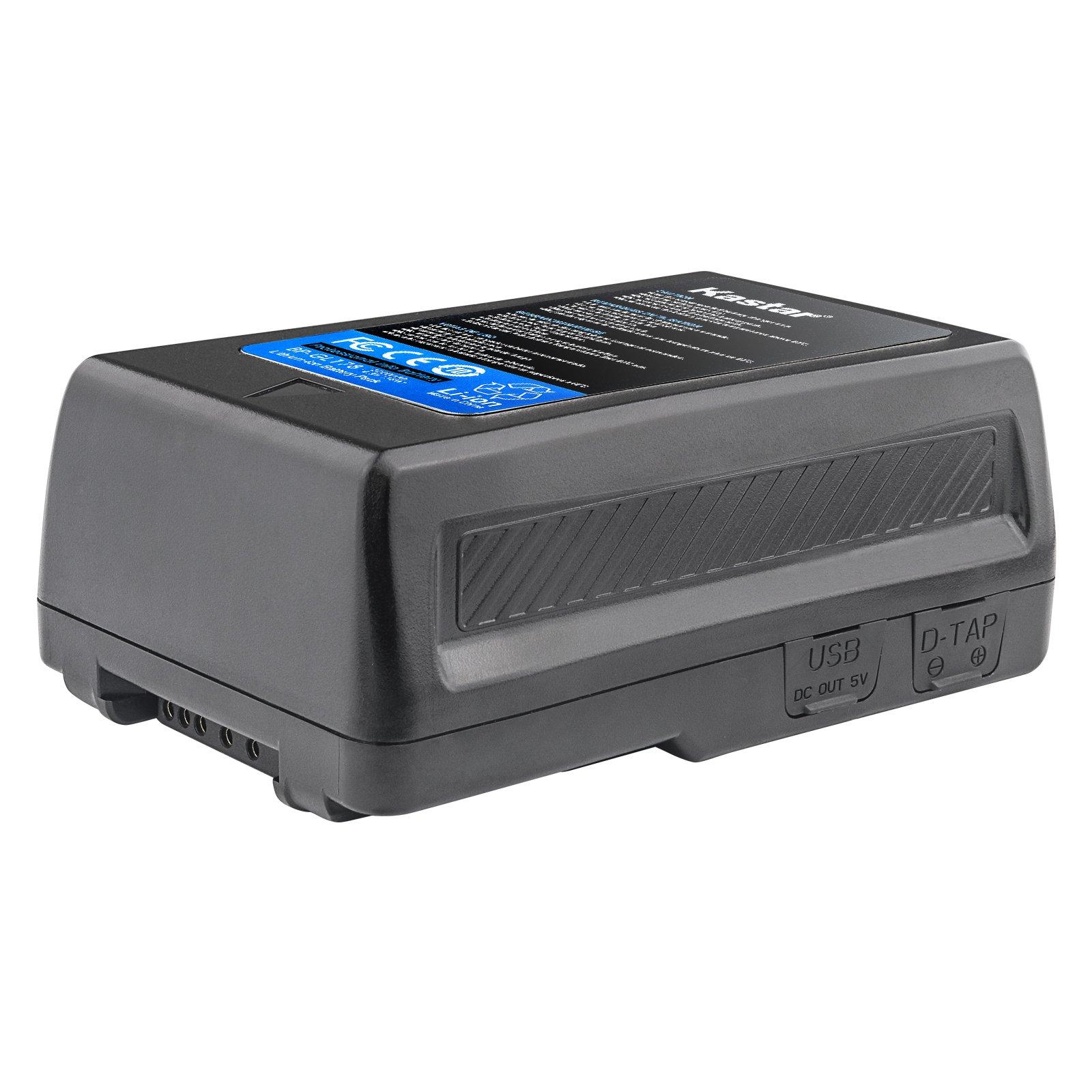 Kastar BP-GL178 Broadcast Replacement V Mount Battery, 14.8V 12000mAh 178Wh for Sony PMW-EX330K PMW-EX330L PMW-580K PMW580L PDW-680 PDW-700 PDW-850 PMW-TD300 HDW-F900R HDW-680 HDW-800P PMW-F55 PMW-F5 by Kastar (Image #3)