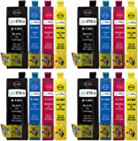 4 Compatible Sets of 4 XL Printer Ink Cartridges to replace T1306 (16 Inks) - Black / Cyan / Magenta / Yellow for use in Epson Stylus Office B42WD, BX525WD, BX535WD, BX535WD, BX630FW, BX635FWD, BX925FWD, BX935FWD, SX525WD, SX535WD, SX620FW & WorkForce WF-3010DW, WF-3520DWF, WF-3530DTWF, WF-3540DTWF, Pro WF-7015, WF-7515, WF-7525 ***High Capacity - XL***
