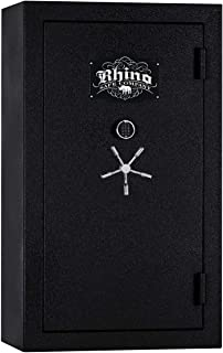 product image for Rhino Safe Warthog RW7242XP Gun Safe by Rhino Metals, 54 Long Guns & 10 Hand Guns, 950 lbs, 80 Minute Fire Protection, Swing Out Gun Rack Compatible, Bonus Deluxe Door Organizer and Made in The USA
