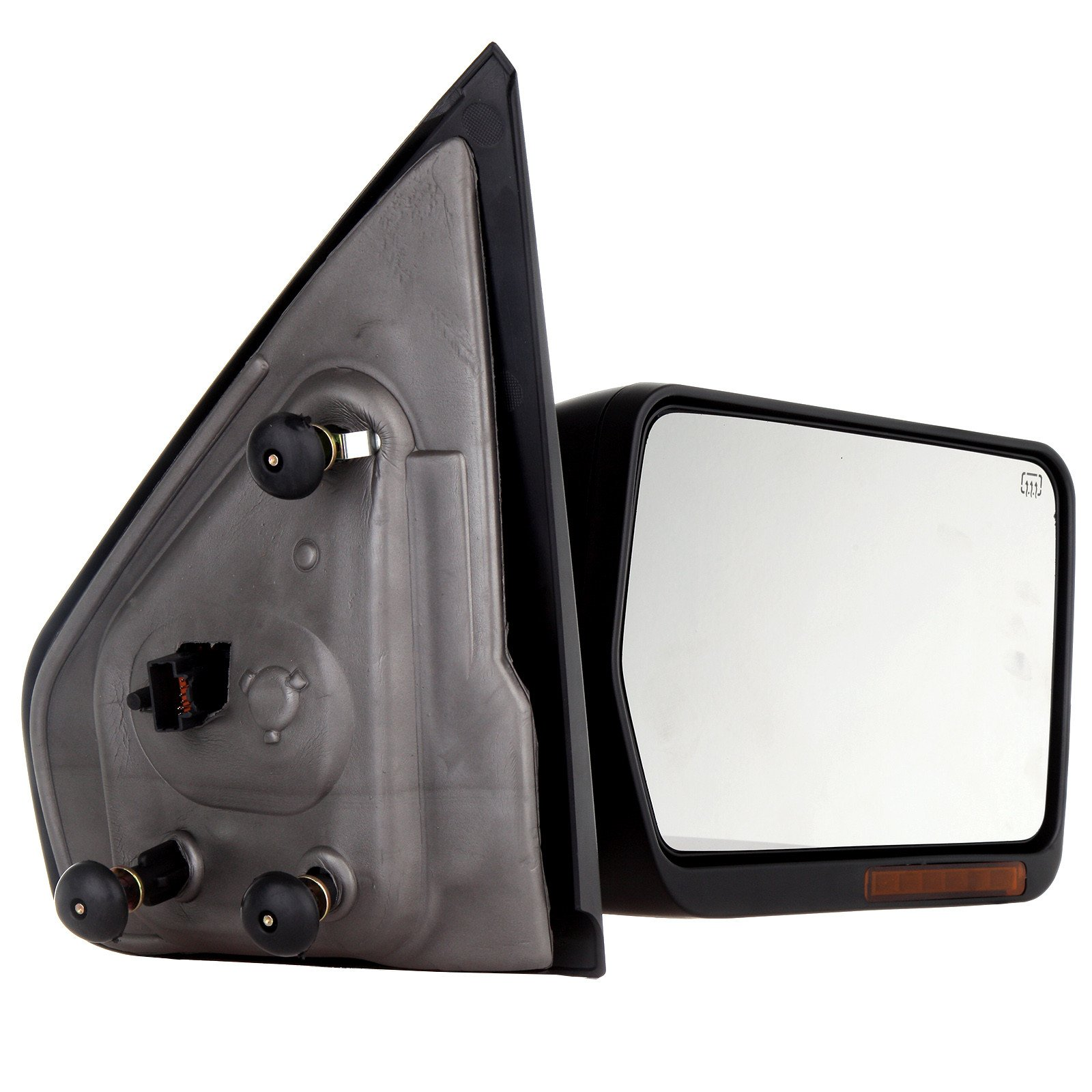 Towing Mirror For 2004-06 Ford F-150 Rear View Mirror Automotive Exterior Mirrors with Power Heated Front LED Signals (Passenger Side) by SCITOO (Image #4)
