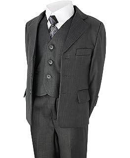 Jungen - Besondere Anlässe Kleidung & Accessoires Jungenanzug Kinderanzug Anzug Beige 5 Teilig Beige Größe 110 Angenehme SüßE