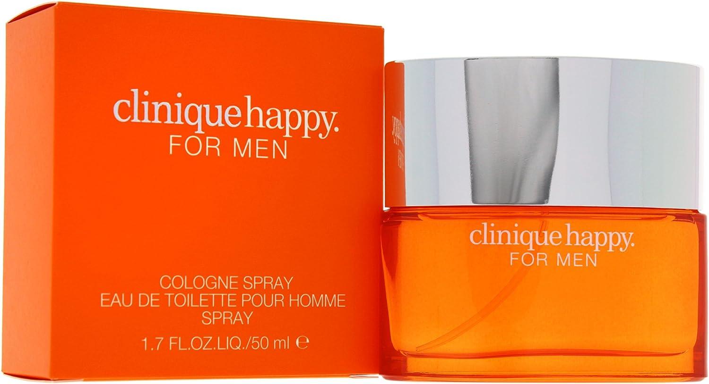 Clinique Happy for Men, Agua de colonia, Hombre, 50 ml
