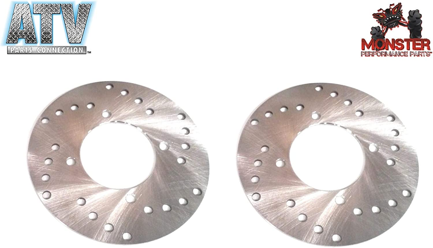 Pair of Front Left /& Right Disc Brake Rotors for Polaris 2x4 Replacement to OE # 5211271 4x4 ATV 5211325