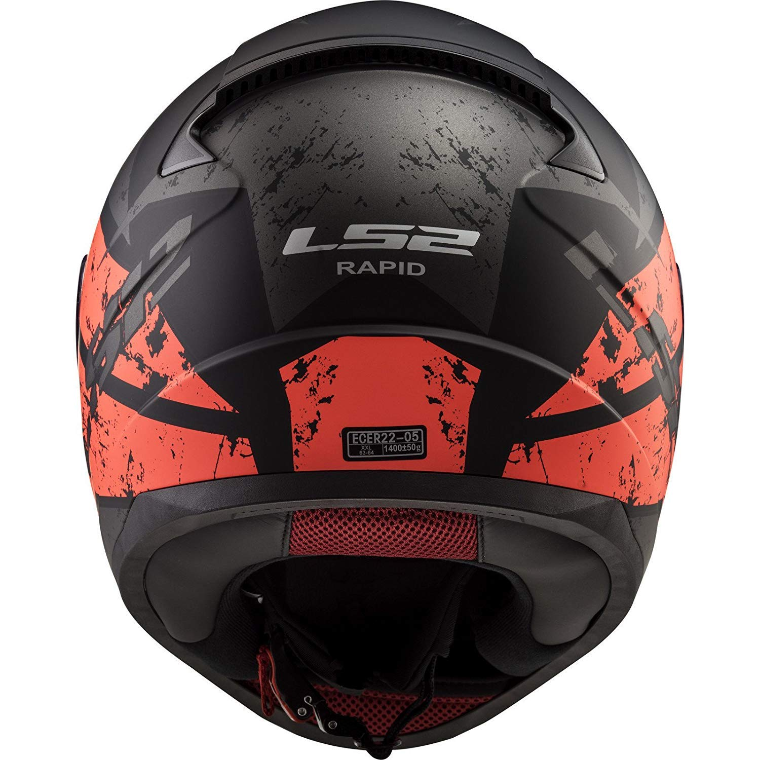 Tute Colour M Poppies Rosa Motorcycle Helmets LS2 FF353 Rapid Full Face Motorcycle Scooter Sports Touring Full Face Racing Helmet