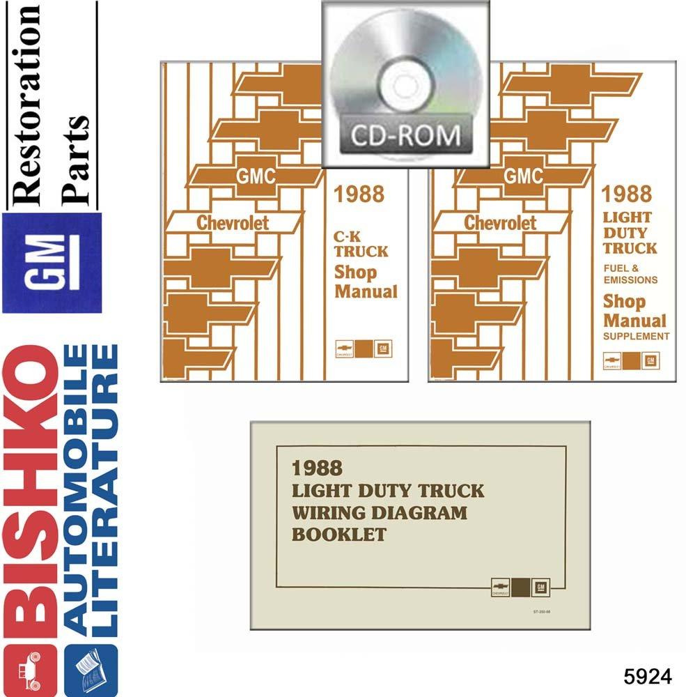 Amazon.com: bishko automotive literature 1988 Chevy GMC 10 ... on