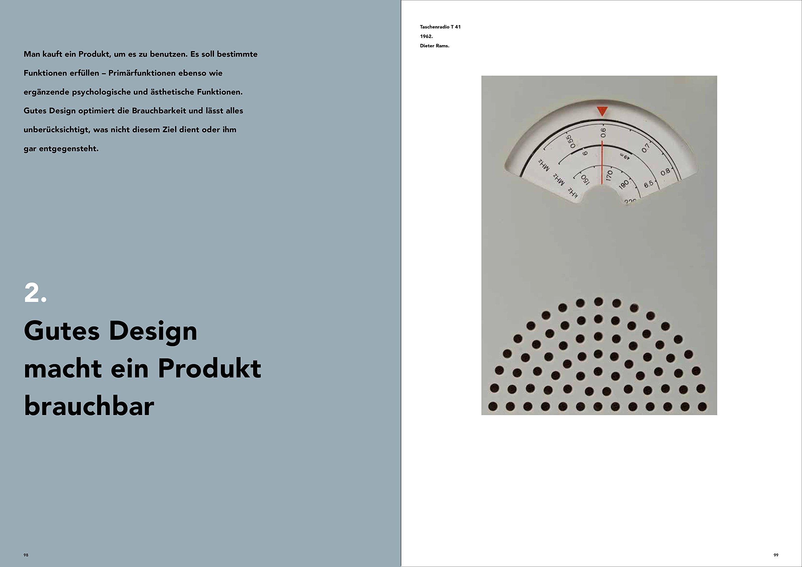 Zehn Thesen für gutes Design: Dieter Rams: Amazon.de: Cees W. de ...