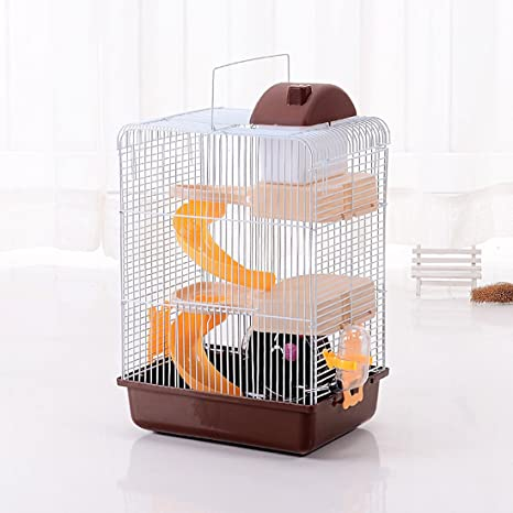 amazon com jtengyao hamster mouse hamster cage luxury castle for