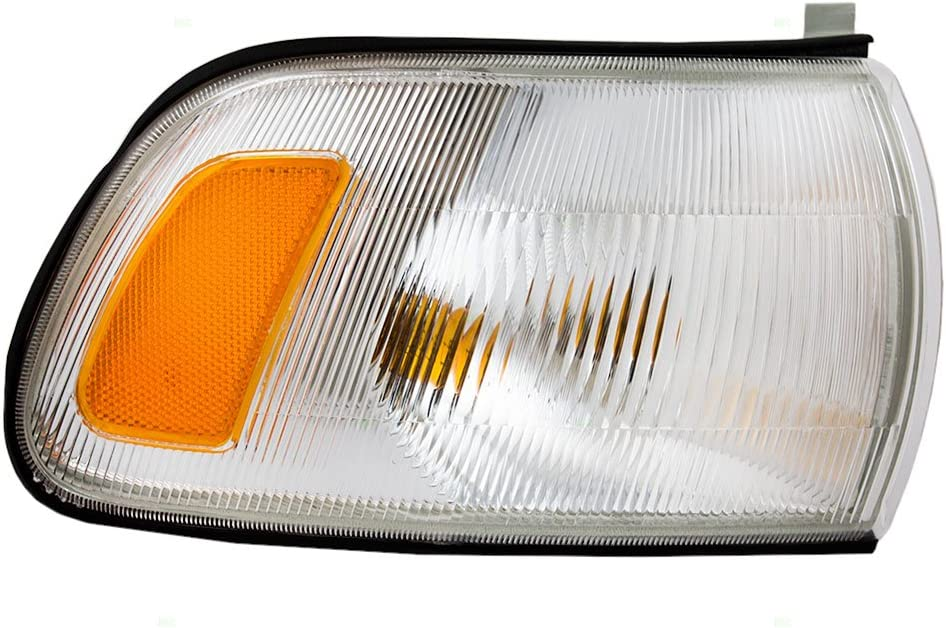 Passengers Park Signal Corner Marker Light Lamp Lens Replacement for Toyota 81510-AA010