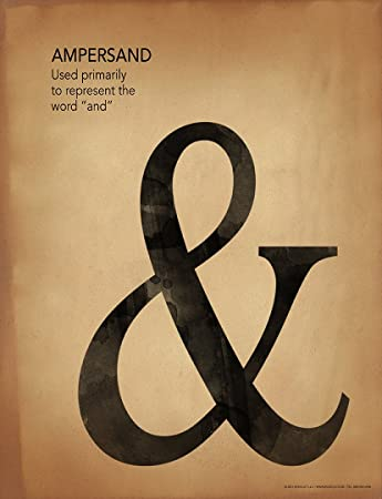 Amazon.com: Ampersand Puntuación, escritura y gramática ...