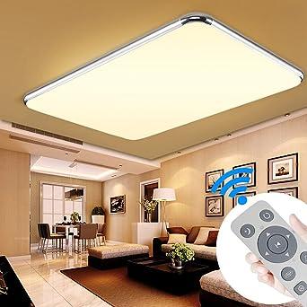 YESDA 64W LED Deckenleuchte Deckenlampe Badlampe Leuchte mit ...