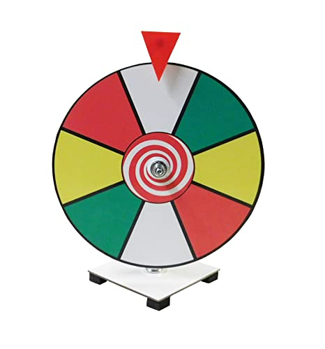 Not Too Many Wheels Spinning On These >> Amazon Com 12 Inch Dry Erase Spinning Prize Wheel Casino Prize