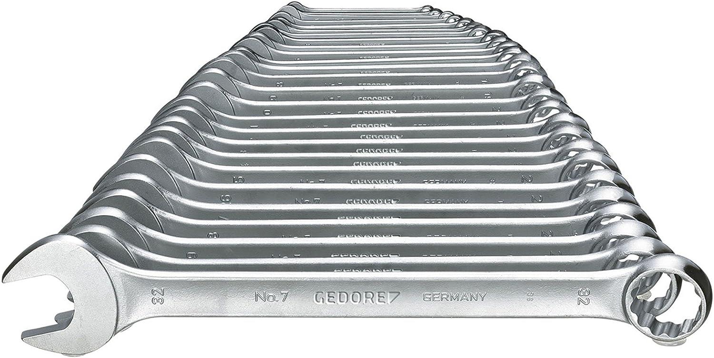BGS Doppel-Ringschlüssel Satz Set FLACH DÜNN SCHMAL 6-22 mm Schlüssel 16 Größen