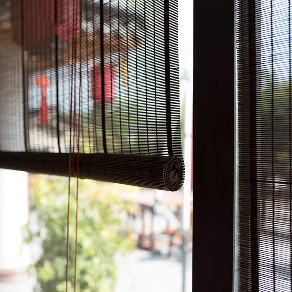 Persiana de bambú Al Aire Libre Roll Up Cortinas De Enrollar La ...