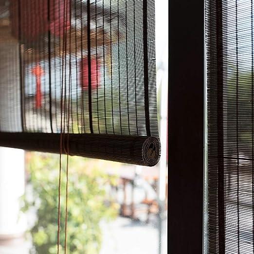 Persiana de bambú Al Aire Libre Roll Up Cortinas De Enrollar La Pantalla De Privacidad para