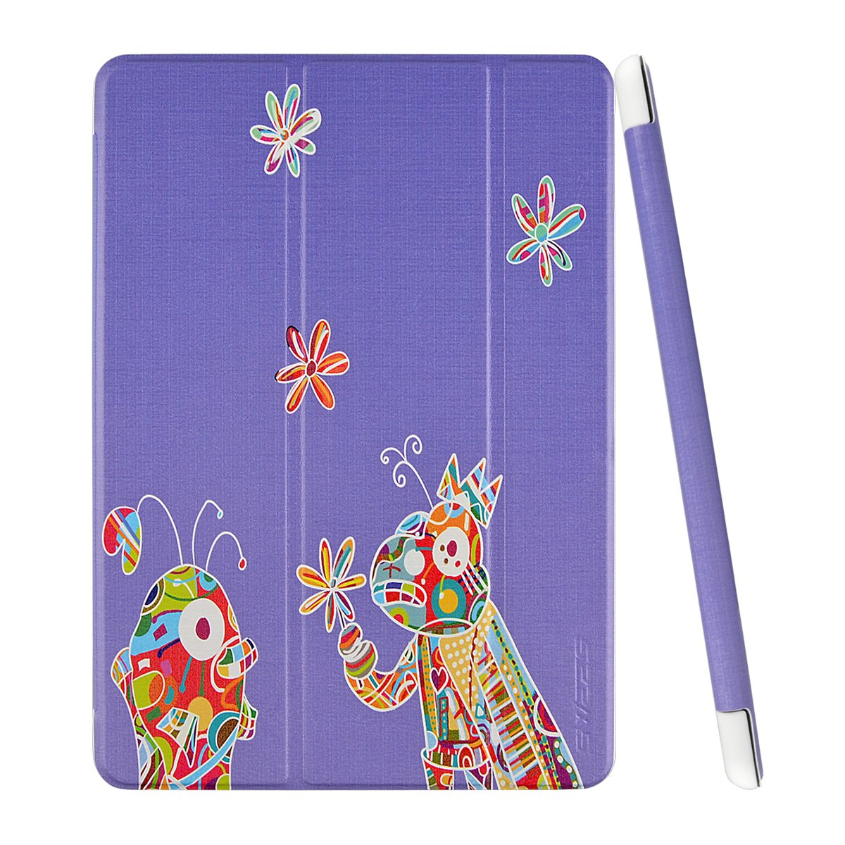 Ipad Air 2 Case - Swees [Music-Loving Fish Series] Pu Leather Smart Cover Cas.. 18