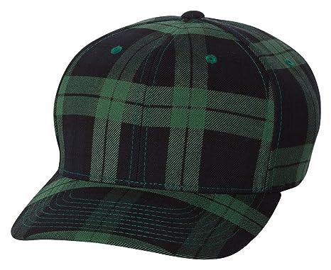 466124a3054 Flexfit Original Fitted Tartan Plaid Hat 6197 at Amazon Men s ...