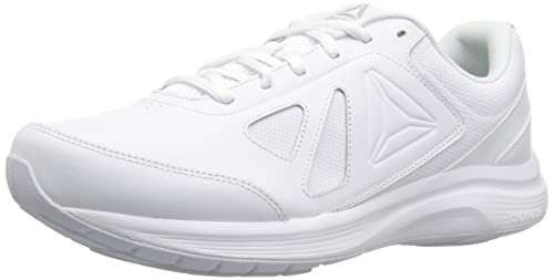 54718b88f Reebok Walk Ultra 6 DMX Max 4e Sneaker White Steel - Wide E 10.5 4E US  Buy  Online at Low Prices in India - Amazon.in