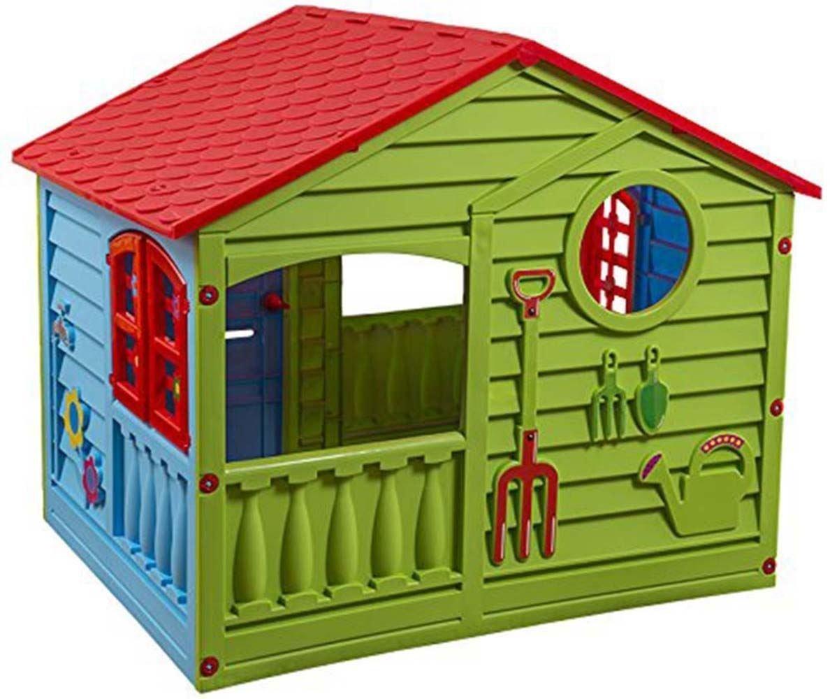 childrens garden happy house outdoorindoor garden summer fun kids playhouse
