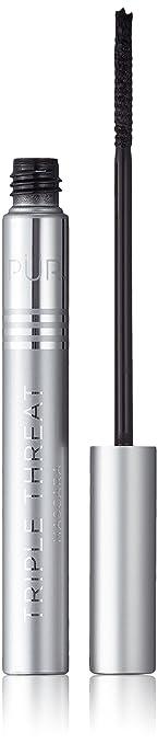 cd80ff174d3 Amazon.com: PÜR Triple Threat Slimline Mascara, 0.16 fl. oz.: Luxury ...