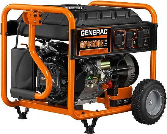 Amazon.com: Generac 5941 GP6500E, OHV 389cc, 6500 ...