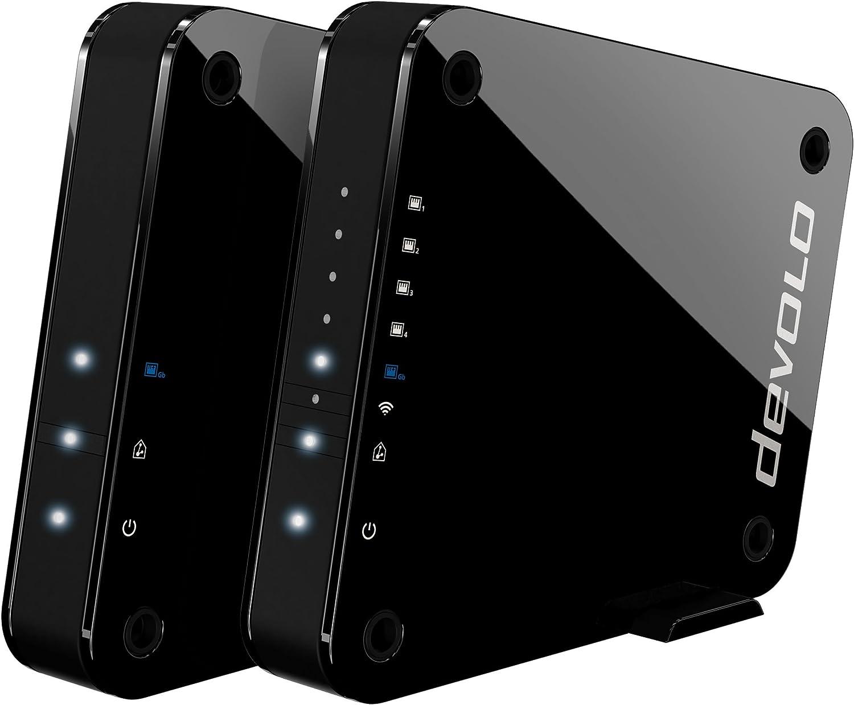 Devolo GigaGate, Bridge Wi-FI (2 Gbit/s, 1x Port Gigabit, 4X Ports Fast...