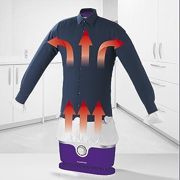 Máquina de planchado automático para camisas y blusas (seca y plancha la ropa automáticamente en. Pasa ...