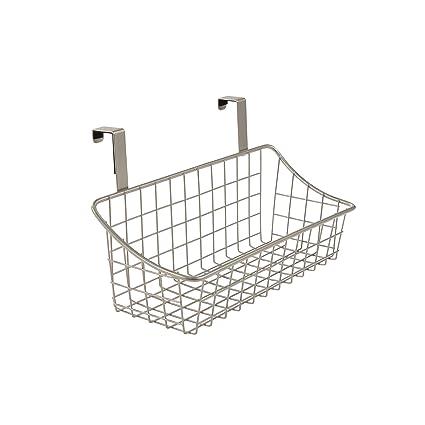 amazon com spectrum diversified over the cabinet grid basket rh amazon com over the cabinet storage basket over the cabinet basket target