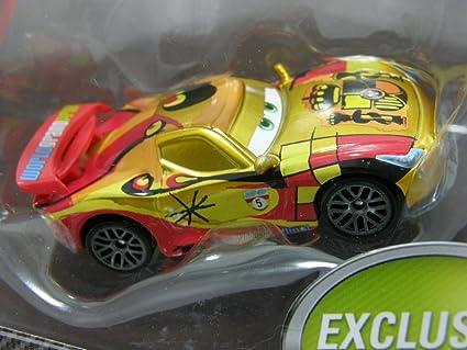 Disney Cars 2 METALLIC FINISH MIGUEL CAMINO exclusive