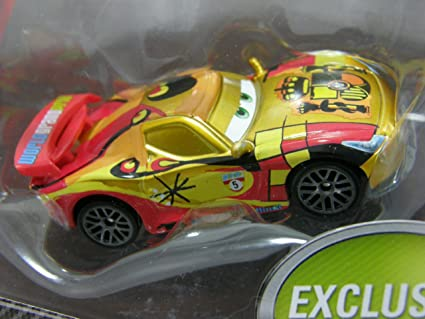 Disney Pixar Cars 2 Exclusive Miguel Camino with Metallic Finish